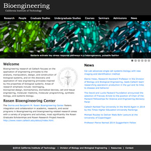 Bioengineering at Caltech