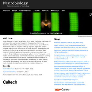 Neurobiology at Caltech